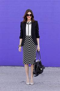 PHOTOS WORK OUTFIT IDEAS FOR LADIES (BLACK AND WHITE INSPIRED)