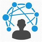 Icon Connection Data Communication Structure Optimization Transparent