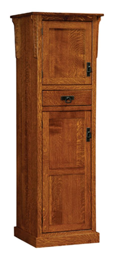 mission  door pantry cabinet amish furniture factory