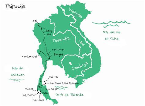 ruta de mochileros por tailandia mochileando por asia
