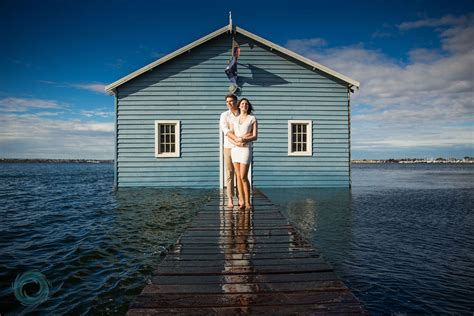 Boatshed In Perth by Perth Wedding Photographers Dave Choose The