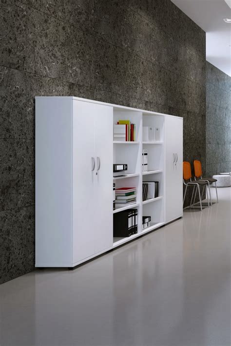 White Office Bookcase by White Office Bookcase 1600mm High Aspire Bookcase Et Bc