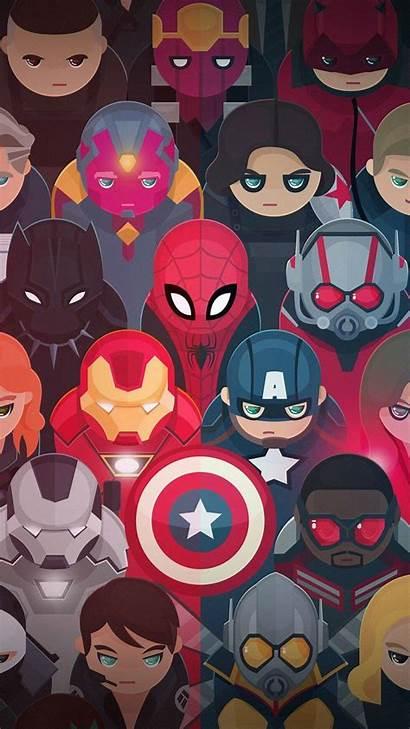 Mobile9 Avengers Cartoon Marvel Wallpapers Fondos Pantalla