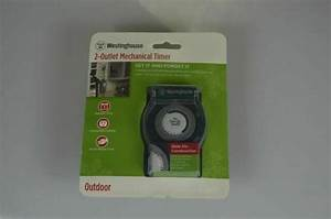 Westinghouse Outdoor Christmas Light Timer Instructions