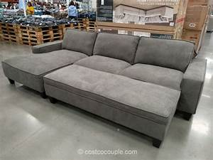 chaise sofa with storage ottoman With costco sofa bed with storage