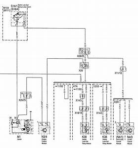 Mercedes-benz C280  1994 - 1997  - Wiring Diagrams - Interior Lighting