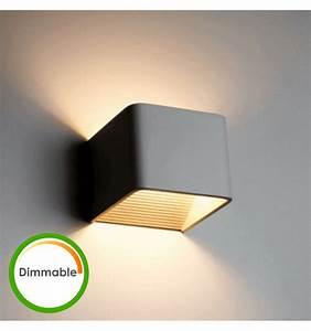 Applique Murale Led : luminaire led dimmable lampe led dimmable quadra 10cm ~ Melissatoandfro.com Idées de Décoration