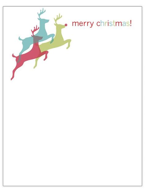 christmas letter template free christmas letter templates