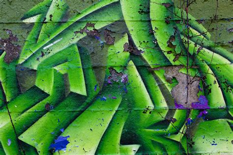 Graffiti Green Force : Green Graffiti Picture, By Animark For
