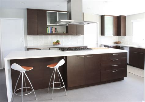 Mid Century Modern Kitchen With Artistic Interior Space