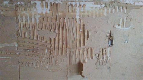 walls   remove metal tile adhesive