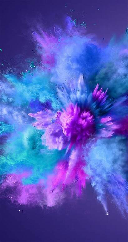 Iphone Galaxy Purple Smoke Screensaver Screen Wallpapers