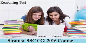 SSC CGL 2016: Reasoning Test - Day 1