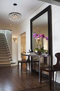 Mirror Over Console Table 18 entryways with captivating mirrors