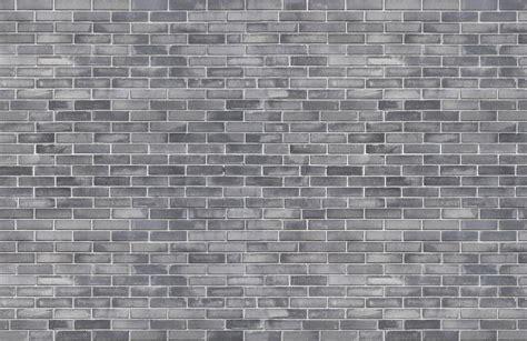 Grey Brick Wallpaper Mural