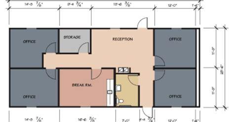 Small Office Floor Plans Design