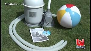 Filtre A Sable Bestway : bestway zandfilter youtube ~ Voncanada.com Idées de Décoration