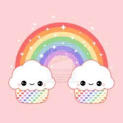 Kawaii Rainbow Cupcake