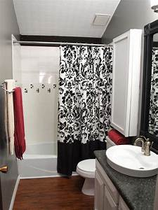 black and white bathrooms hgtv With black white and grey bathroom ideas