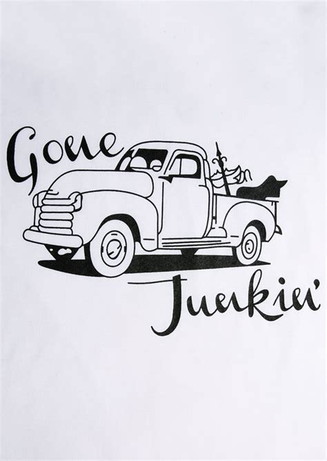 junkin car baseball  shirt bellelily