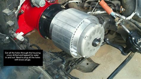 Electric Motor Housing by Ivan S Garage Sonoma Electric Vehicle