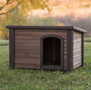 log cabin dog house weather resistant wood large outdoor With log cabin dog kennel