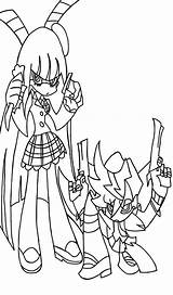 Stocking Panty Drawing Line Drawings Deviantart Anime License sketch template