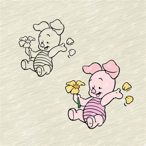 Pooh bear clipart free download! Baby Piglet - Winnie The Pooh,Svg, Dxf, Eps, Png, Cricut ...