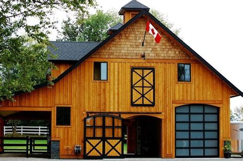 Barn With Black Trim by The Black Trim Canadian Barn Houses Barns
