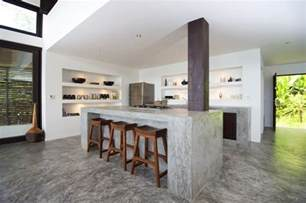 kitchen island countertop concrete kitchen island countertops interior design ideas