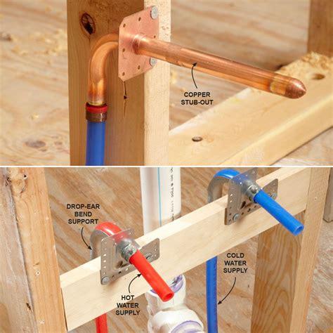 pex supply pipe      bathosphere