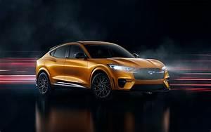 The 2021 Mustang Mach-E GT looks pretty epic in Ford's new Cyber Orange - SlashGear