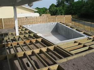 terrasse suspendue bois prix 6 terrasse bois piscine With prix terrasse bois suspendue