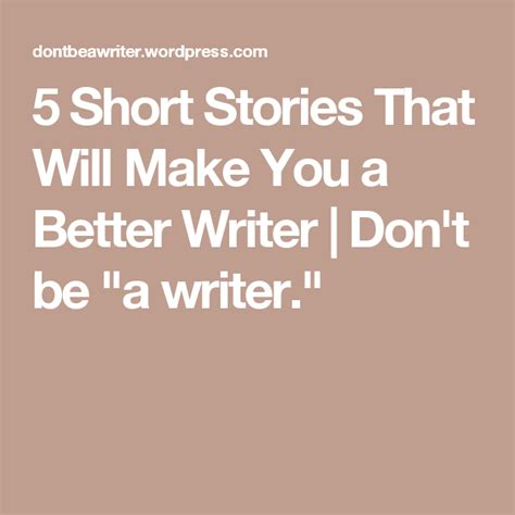 short stories       writer