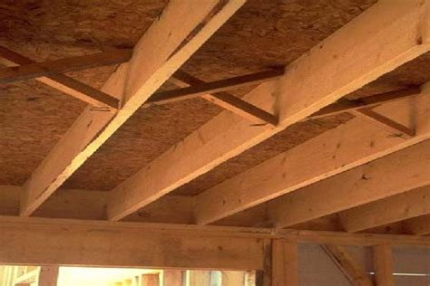 floor joist bracing question new home construction question page 2