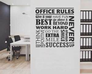 Vision eye decal vinyl wall lettering vinyl wall by for Office lettering