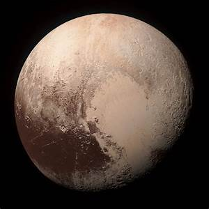 New Horizons Pluto Mosaic (True-color Edit) by ...