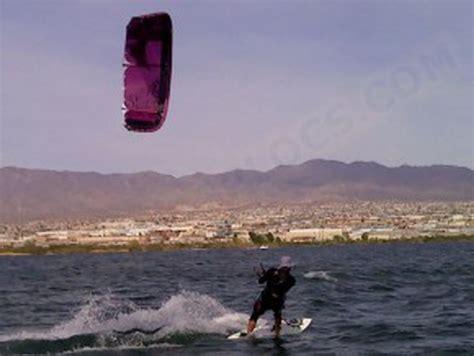Kiteboarding Lake Havasu City California Usa
