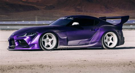 Very Wide, Very Purple 2020 Toyota GR Supra Is An ...