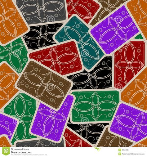 playing cards deck pattern stock images image