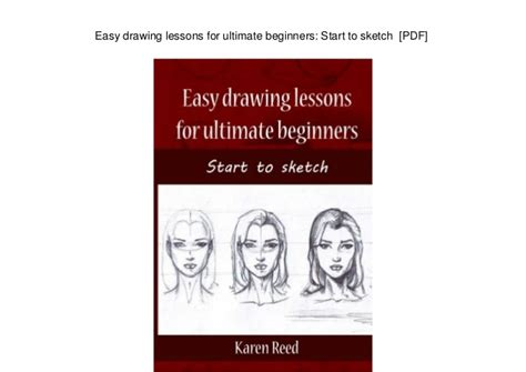 easy drawing lessons  ultimate beginners start