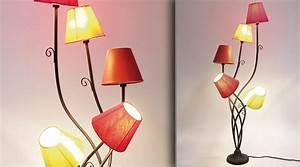 Lampadaire Interieur Design : lampadaire design color luminaire sur pied marchesurmesyeux ~ Teatrodelosmanantiales.com Idées de Décoration