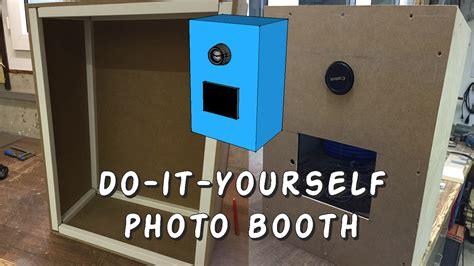 Doityourself  Photo Booth  Zusammenbau