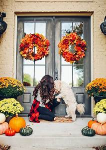 Our, Fall, Front, Porch, Decor