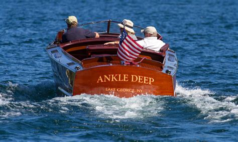 Boat Event Names by The 40th Lake George Rendezvous Through The Eye Of Kent O