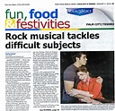 Rock musical tackles difficult subjects News   The Lyric ...