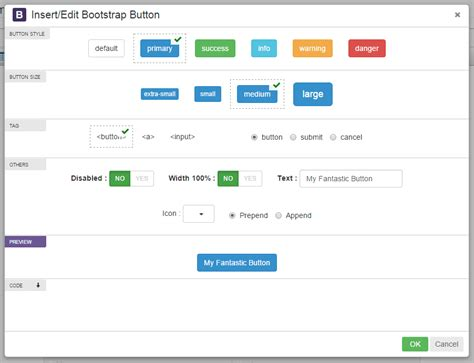 Tinymce Bootstrap Plugin By Migli  Codecanyon