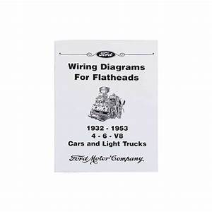 Wiring Diagrams For Flatheads  1932-53 4-6-v8