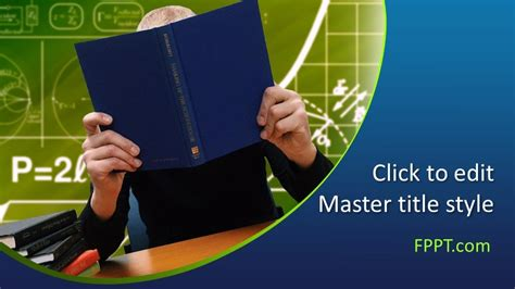 Free School Education PowerPoint Template - Free ...