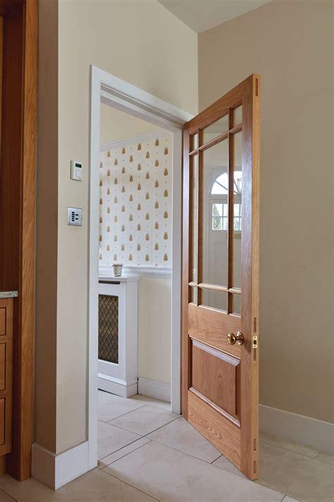 solid oak glazed internal door london door company